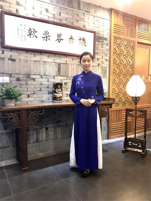 茶艺老师张琳